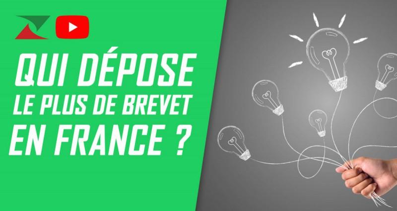 Qui dépose le plus de brevets en France ?