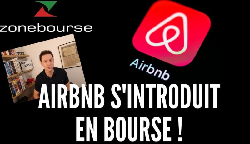 Airbnb s'introduit en bourse