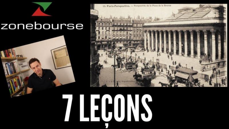 7 leçons de 120 ans d'histoire boursière