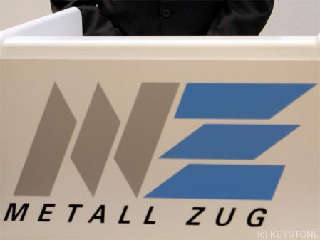 Metall Zug: les ventes dépassent les prévisions. dans - - - NEWS INDUSTRIE 67577433_449